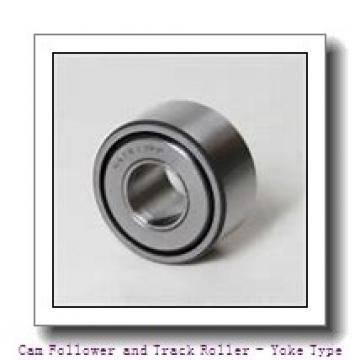 INA LR605-2RSR  Cam Follower and Track Roller - Yoke Type