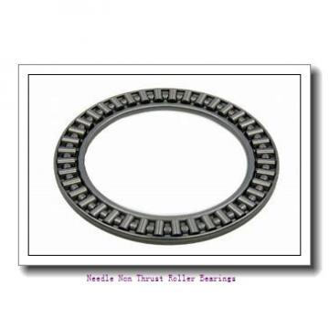 0.75 Inch   19.05 Millimeter x 1 Inch   25.4 Millimeter x 1.015 Inch   25.781 Millimeter  KOYO IR-1216  Needle Non Thrust Roller Bearings